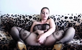 big-breasted-brunette-in-lingerie-takes-herself-to-climax