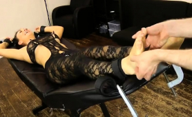 sultry-brunette-in-lingerie-gets-her-body-and-feet-tickled