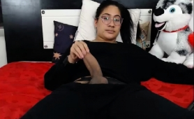 hot-asian-tranny-with-glasses-has-a-passion-for-masturbation