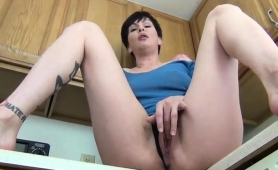 sexy-brunette-housewife-with-a-marvelous-ass-pleases-herself