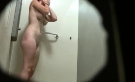 voyeur-spies-on-a-stacked-amateur-brunette-taking-a-shower