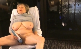 Stacked Amateur Granny Makes Herself Cum With A Vibrator