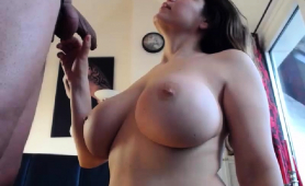 This Rookie Has Got Marvelous Big Tits And Loves Kinky Sex